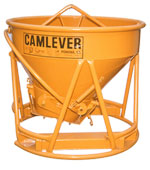 Camlever All 'N' One concrete bucket - concrete placement bucket