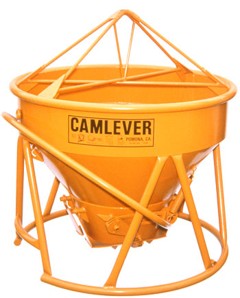 Camlever Low Boy concrete placement bucket