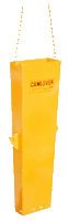 Camlever Steel Rectangle Discharge Chute