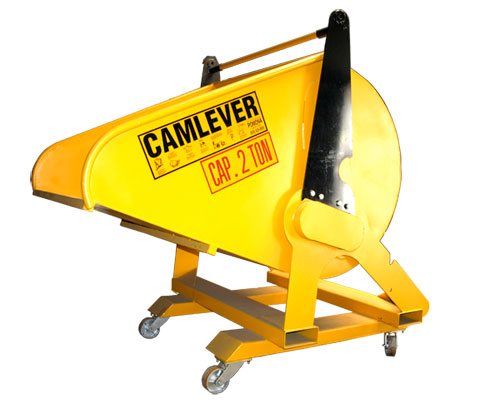 Camlever Recycle Dumpster for forklift or crane