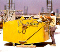 Camlever Trash and Material handler stationary position